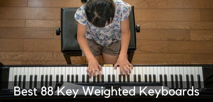 Best 88 Key Weighted Keyboards In 2019 Tinkle The Keys
