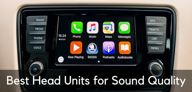 Best Head Units for Sound Quality – Single & Double DIN Head Units
