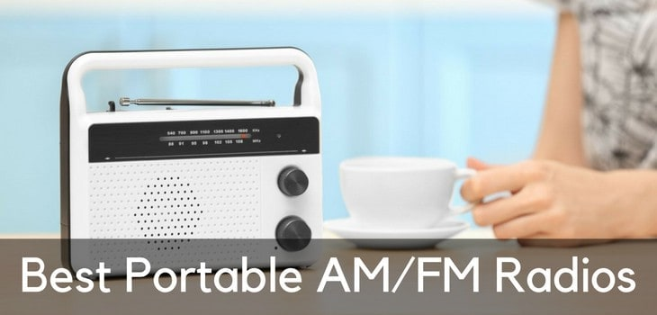 Best Portable Radios (FM & AM) in 2019 to Rock Out to