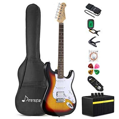 Best Electric Guitar Starter Kits & Packages for Beginners